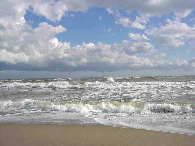 tobendes Meer